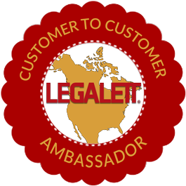 The Legalett Ambassador Program - Where New Clients Discover the Comfort & Convenience of a Legalett Home