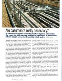 Building Magazine: Are Basements Really Necessary?