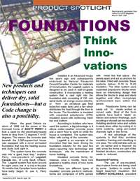 Home Builder Magazine: Product Spotlight - Dry Solid Foundations with Legalett