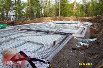 Step 10 - Complete Pipe Installation | Installation Procedures for Legalett Frost Protected Shallow Foundations and Air-Heated Radiant Floors ON