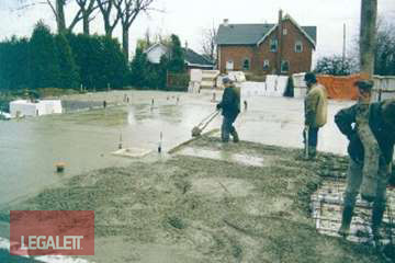 Step 13 - Power Trowel Surfaces | Installation Procedures for Legalett Frost Protected Shallow Foundations and Air-Heated Radiant Floors ON