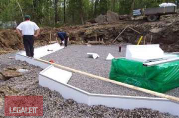 Step 3 - Layout Edge Elements | Installation Procedures for Legalett Frost Protected Shallow Foundations and Air-Heated Radiant Floors ON