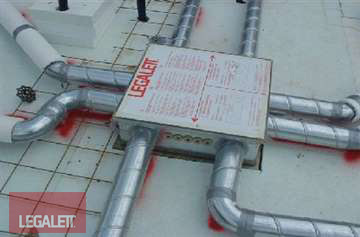 Step 7 - Install Furnace Box | Installation Procedures for Legalett Frost Protected Shallow Foundations and Air-Heated Radiant Floors ON