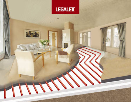 What is a Legalett Slab-on-Grade Frost Protected Shallow Foundations & Air-Heated Radiant Floor Systems