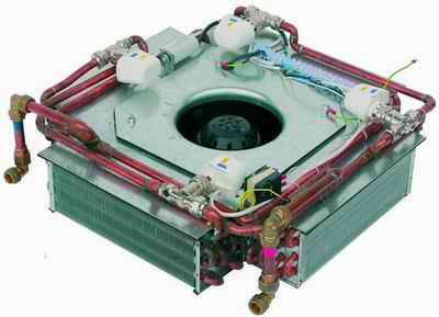 Water Coil Units for Legalett's Air-Heated Radiant Floor Systems