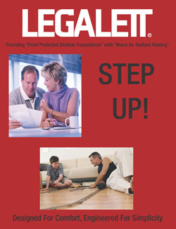 Legalett Brochure - Commercial Advantages for Frost Protected Shallow Foundations and Air Heated Radiant Floor Heating System - Toronto, ON
