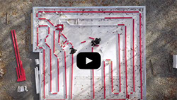 Legalett Frost-line Simulation Video for GEO-Slab Radiant Air-Heated Frost Protected Shallow Fondations - Toronto ON